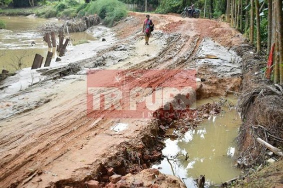 Pathetic condition hits Baldakhal transport