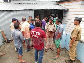 Son kills parents, maid at Amtali. TIWN Pic July 25