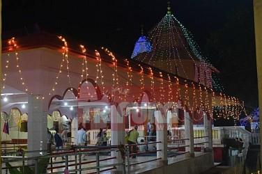 Diwali celebration begins at Agartala. TIWN Pic Oct 18