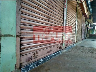 8 Hours Strikre at Jirania Block by CPI-M. TIWN Pic Sep 21