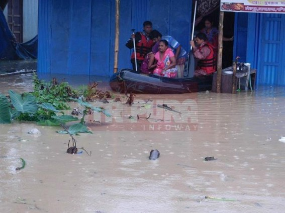 Above 300 flood victims reported