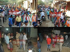 After Bishalgarh, CPI-M's Red-Terror hits Aralia : Attack upon BJP's Minority Leader in midnight, BJP comes in massive protest against 'Mafia Raj of Marxists'