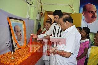 Tribute paid to Dr. Shyama Prasad Mukherjee at BJP Head Quarter