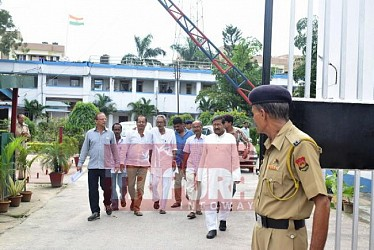 CITU places deputation to DGP against IPFT attack. TIWN Pic Sep 20