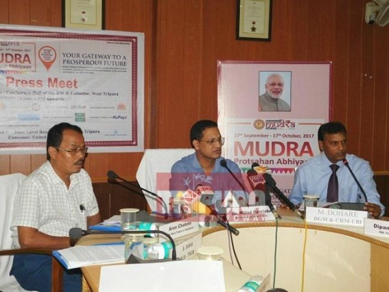 Mudra promotion camp to be organized on Oct-14 to motivate self-employment