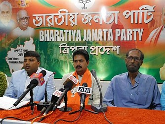 BJP minority morcha held press meet at Party Office. TIWN Pic Nov 20
