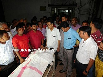 ICA Minister Bhanulal Saha condemns journalist's murder. TIWN Pic Sep 20