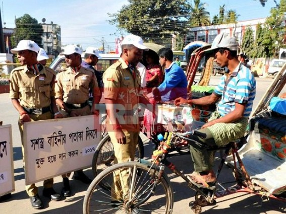 Armed forces Flag Day observed in Tripura
