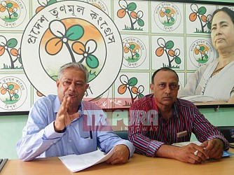 TMC minority cell held press meet. TIWN Pic May 24