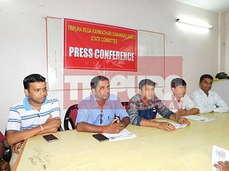 REGA employees held press meet. TIWN Pic May 24