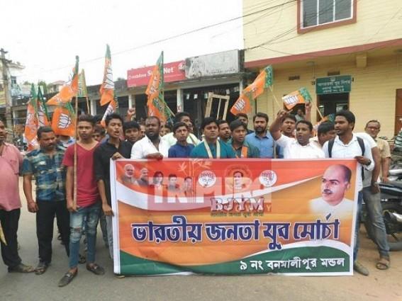 Dirty Agartala City suffocates Common men : BJP raised 7 demands