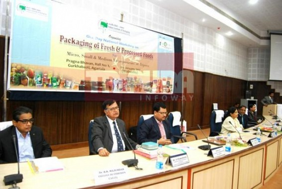 One day Seminar held on Packaging of Fresh and Processed foods