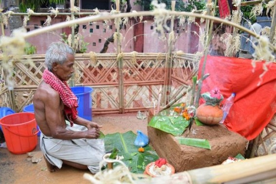 Tripura celebrates Garia Puja with pomp and gaiety