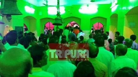 Devotees throng to Udaipur Matabari ahead of Diwali. TIWN Pic Oct 18