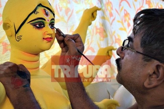 Countdown begins for Durga Puja : Mahalaya on Tuesday !