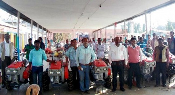Power-tillers distributed in subsidy: Ten farmers got opportunity of subsidy