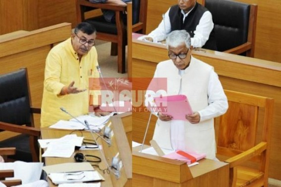 Uproar in Tripura Assembly with Santanu Murder case : Ratan Lal Nath, Manik Sarkar face to face, debates continue on Denial of CBI probe in Santanu murder case by CPI-M Govt