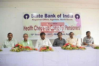Health Camp conducted by State Bank of India. TIWN Pic Nov 19