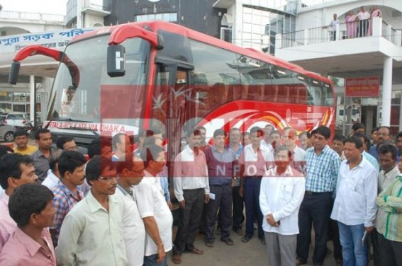 Indo-Bangla bus service turns a boon for International smugglers: Heroin, Drugs, Illegal Arms ladden package transport via Agartala-Dhaka-Kolkata Volvo bus from Tripura exposed ! Illegal money exchange, smuggler activity create resentment among passengers