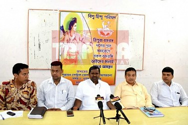 VHP held press meet. TIWN Pic April 28