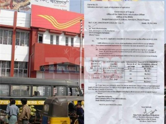 Saga of postal department: A registered letter took almost a year to cover 25 kilometres