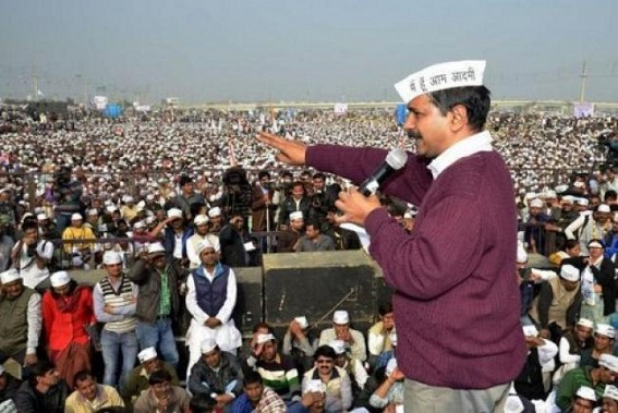 Kejriwal making 'voter-bribe' allegations for sensation