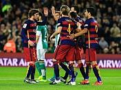 Real Betis tops Malaga 2-1 in La Liga