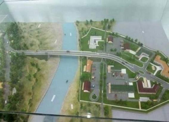 Feni Bridge pillaring work started