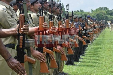 Parade practice begins at Assam Rifles ground for 15th August. TIWN Pic July 28