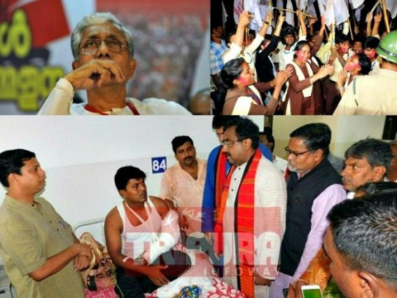 'SFI won with false voters', claims BJP ! But Tripura's every booth has over 10% false CPI-M voters : What actions BJP taking against CPI-M before 2018 ?