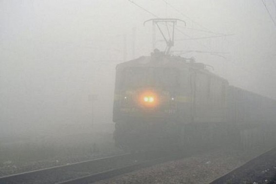 26 trains delayed, 11 cancelled due to fog