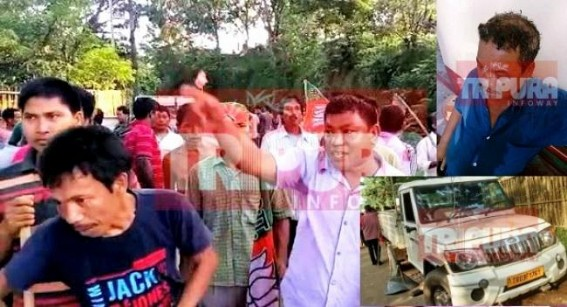 NC Debbarma's IPFT under the garb of CPI-M, attacked new BJP tribal leader at Naresh Jamatia's Killa : CPI-M's role under scanner for creating 'Pre-Poll-Violence'