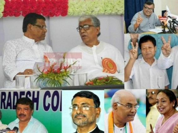 Presidential Election on Monday : 7 votes from Tripura to go for Kovind; rest all for Meira ! Ratan to break Indian Political History by voting BJP