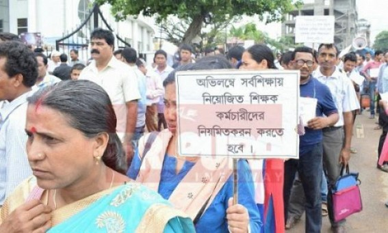Tripura Govt pressures on SSAs to withdraw strike