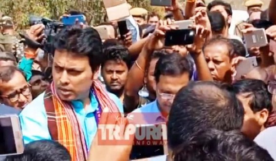 Tripura CM suspends Officers, Quality Inspectors for poor road maintenance  : 'No need of such officers !', says CM