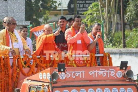 Powered by Modi's popularity, BJP will oust Left in Tripura: UP CM