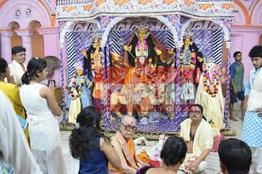 Basanti Puja celebration begins on Maha-Saptami. TIWN Pic March 23