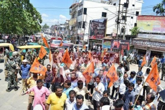 Public demand Action against unruly auto drivers, Dadagiri of 'Sangh' : Tripura BJP Chief Minister denies 'BMS as wing of BJP'