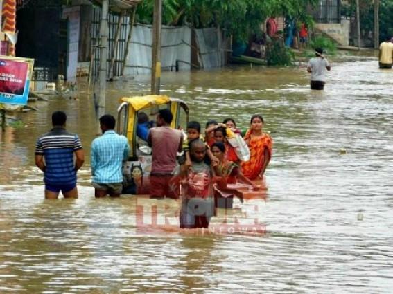 Flood-hit Tripura seeks Army assistance