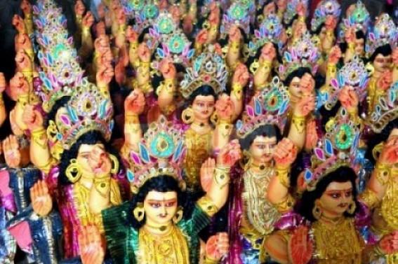 Preparations on peak to celebrate Biswakarma Puja on Monday