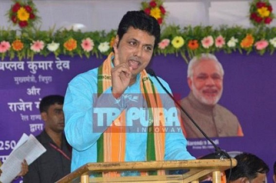 Tripura by-election JUMLA : 28 blocks out of 35 blocks under BJP's grip uncontested
