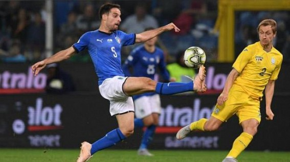 Italy held by Ukraine in friendly