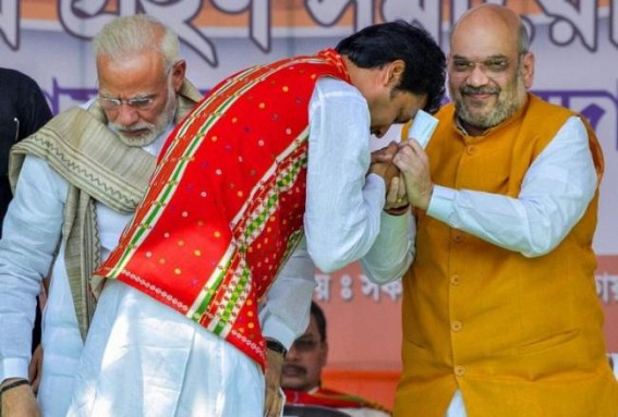 BJP emerged as the first party in India won Elections with desperate lies : Tripura's Vision Document the Biggest ever JUMLA with State Public