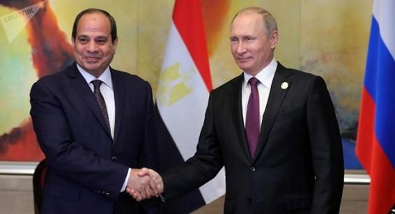Putin to meet Egypt's Sisi on October 17