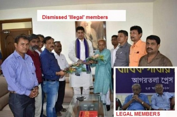 Press Club old Elected Committee to takes charge, Pranab Sarkar led Illegal Occupiers dismissed by Court