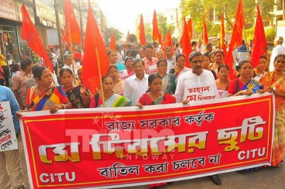 CPI-M demands re-installation of May Day as Holiday