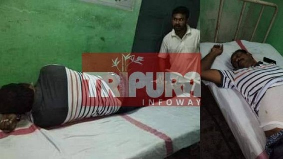 CPI-M leader severely beaten at Udaipur