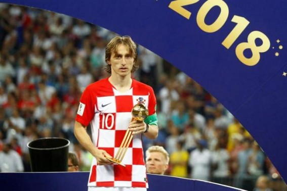 Luca Modric wins 2018 Ballon d'Or