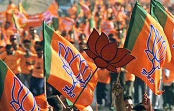 BJP Yuva Morcha President of Santir Bazar arrested in poll violence