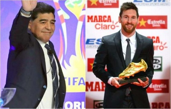 Maradona better than Messi, says Pele